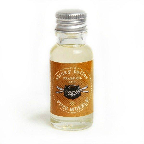 Fuzz Muzzle 'Sticky Toffee' Beard Oil