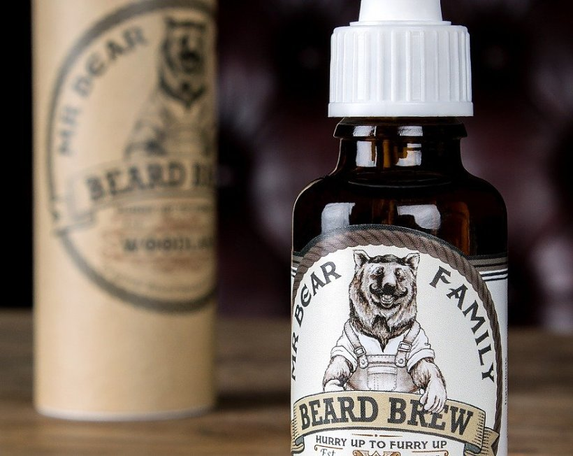 Mr Bear Family 'Woodland' Beard Brew Beard Oil