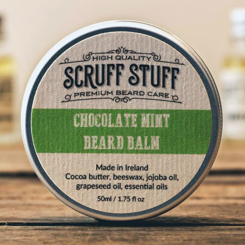Scruff Stuff 'Chocolate Mint' Beard Balm