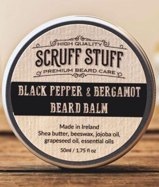 Scruff Stuff 'Black Pepper and Bergamot' Beard Balm