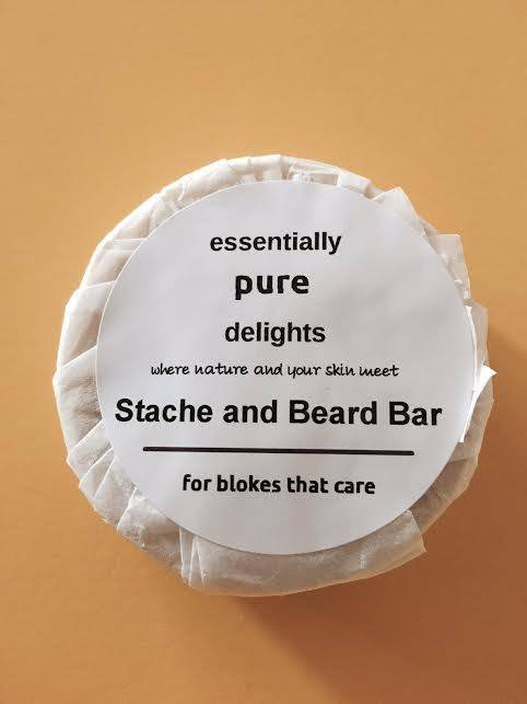 Stache and Beard Bar from The Great Australian Beard Co