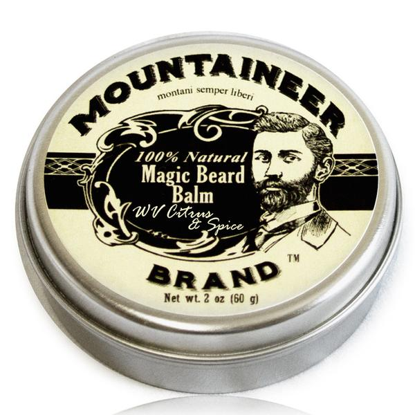 Mountaineer Brand Magic Beard Balm WV Citrus & Spice