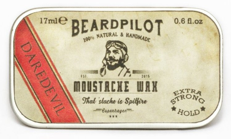 Beardpilot 'Daredevil' Moustache Wax