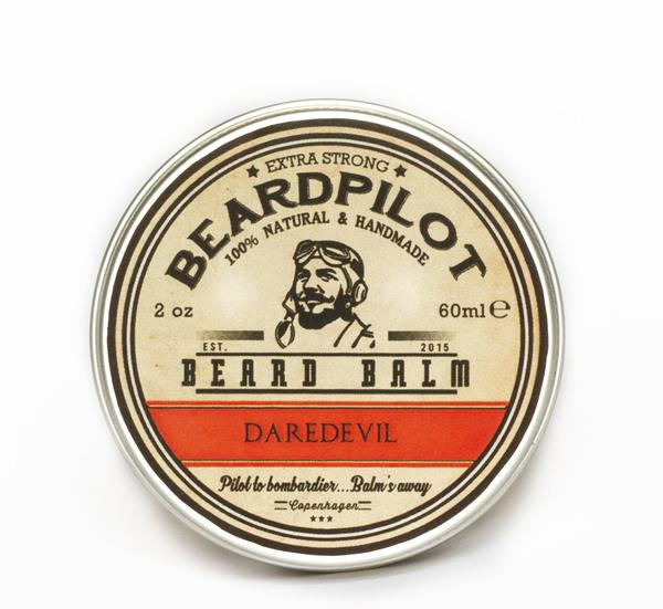Beardpilot Daredevil Beard Balm made with Chilli Seed Oil