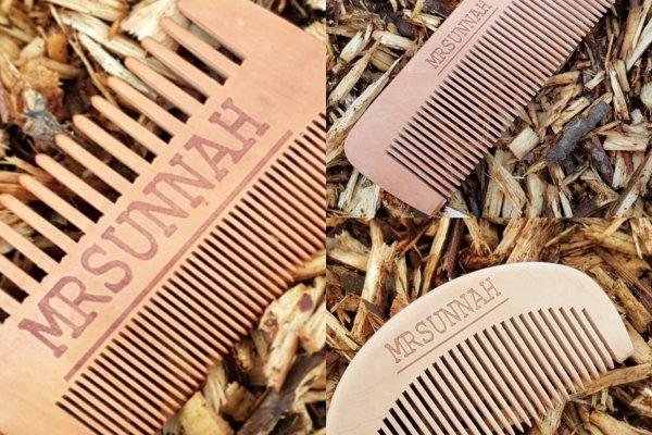 Mr Sunnah Wooden Beard Combs