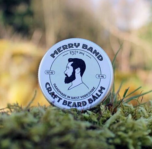 Merry Band Beard Oil 'Beard Balm'