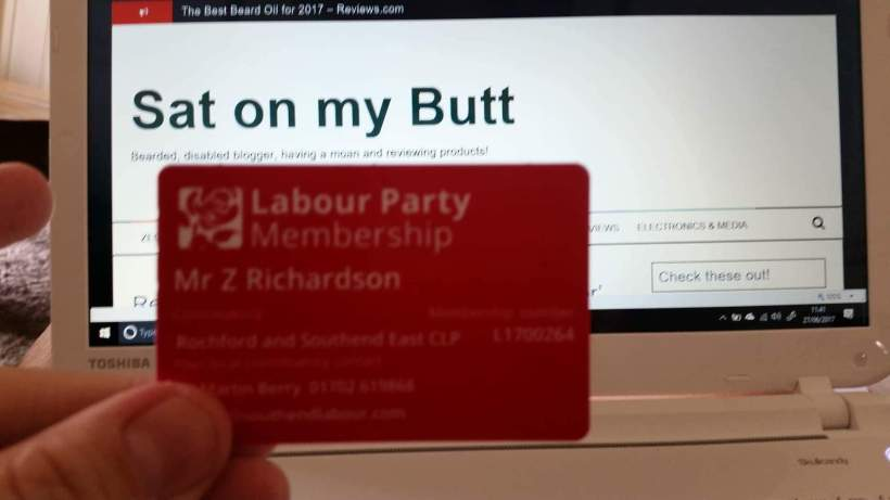 I joined the Labour Party