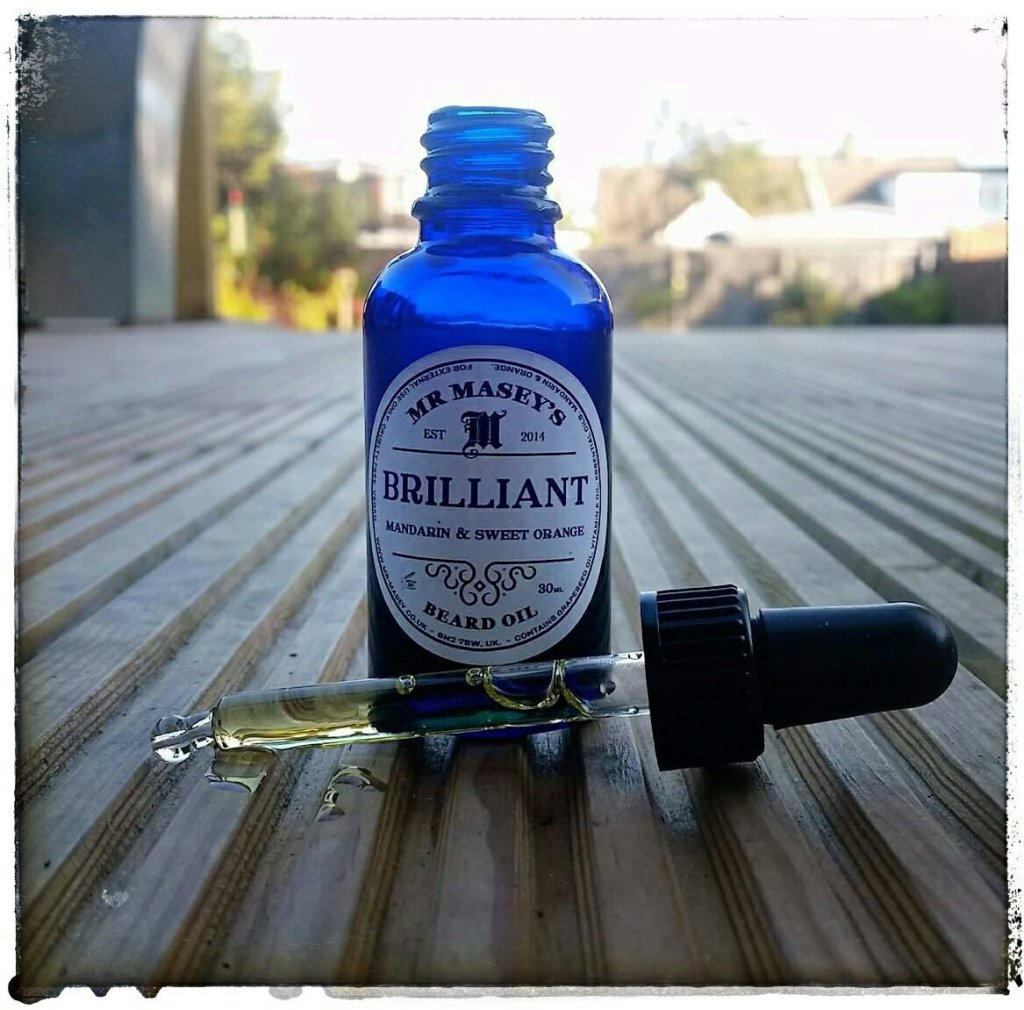 Mr Masey's 'Mandarin & Sweet Orange' Brilliant Beard Oil