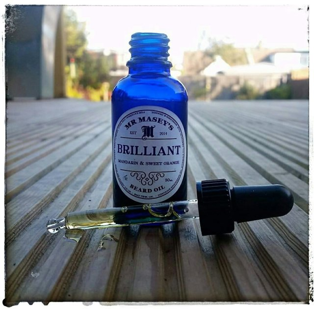Review: Mr Masey's 'Mandarin & Sweet Orange' Brilliant Beard Oil
