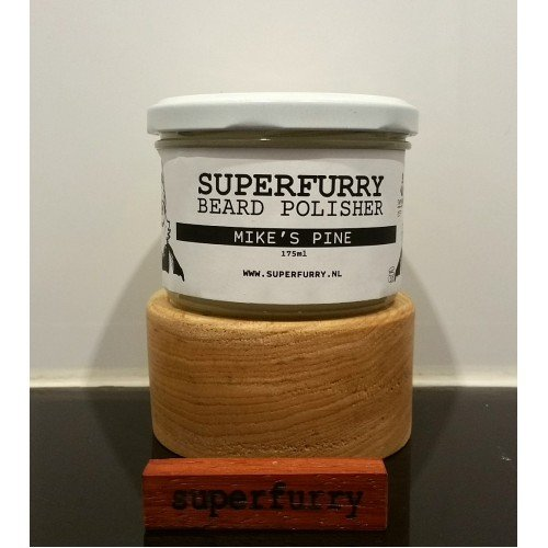 Superfurry 'Mike's Pine' Beard Polisher