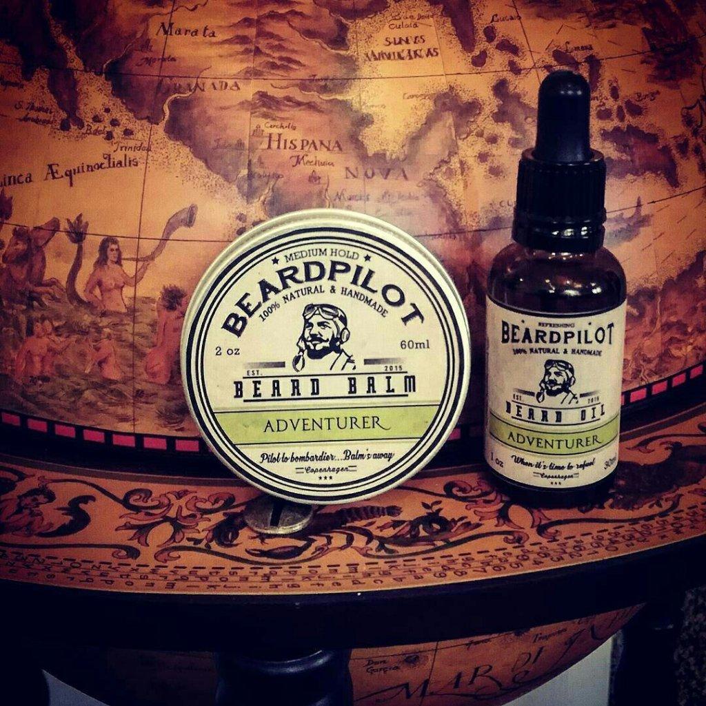 Beardpilot 'Adventurer' Beard Oil & Balm