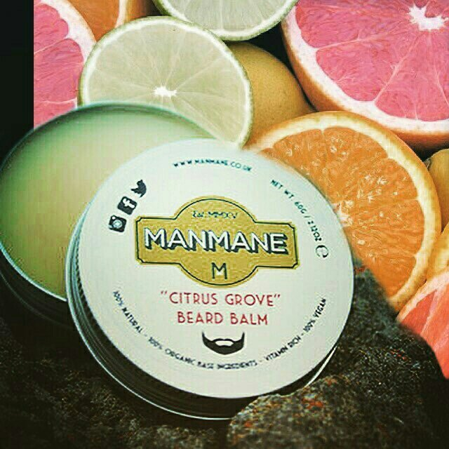 Manmane 'Citrus Grove' Beard Balm