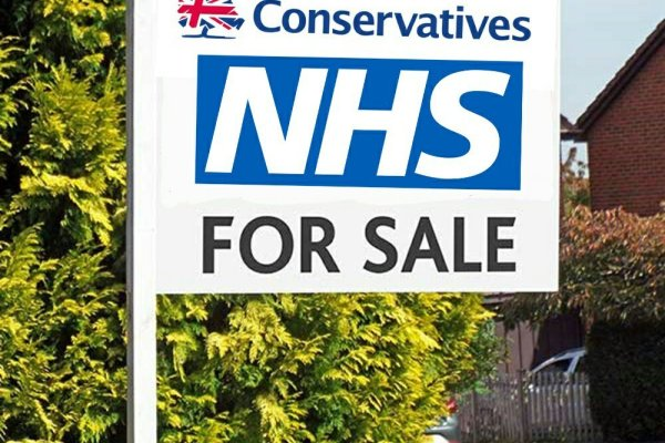 They won't privatise the NHS!