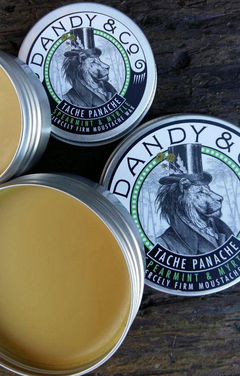 Review: Dandy & Co Tache Panache Spearmint & Myrtle wax