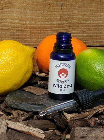Thatch Face Beard Oil 'Wild Zest' beard oil