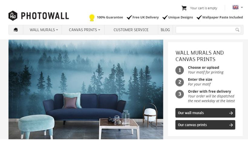 Building the Photowall photo canvas