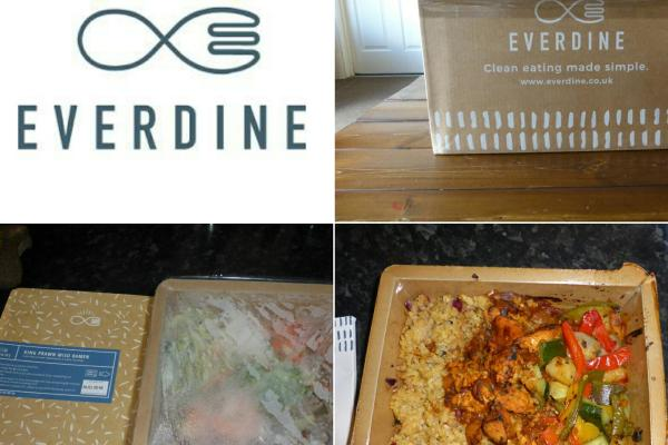 Review of the Everdine Healthy every-day lunches and dinners