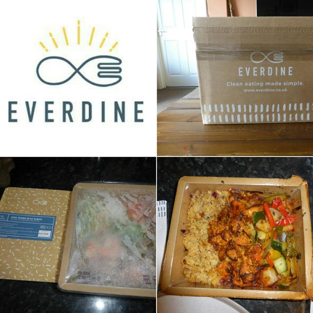 Review of the Everdine Healthy every-day lunches and dinners.
