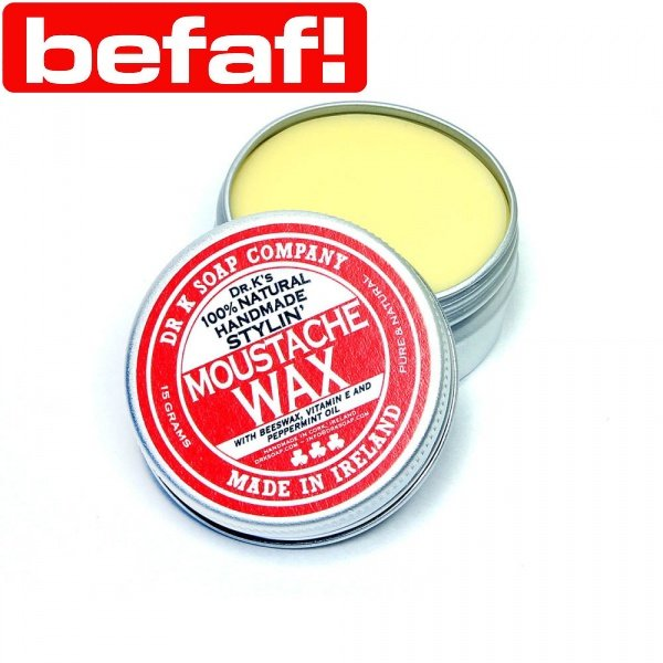 Review of Dr K Soap Co Moustache Wax from Befaf
