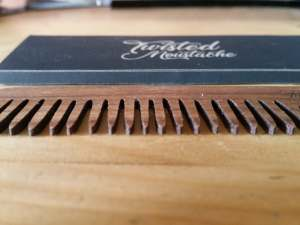 Review of Twisted Moustache Signature Big Wooden Beard Comb