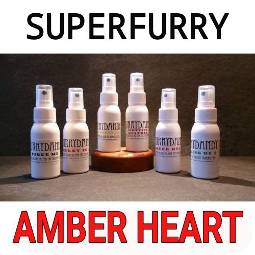 Review of Superfurry FURRYDANDY Amber Heart Beard Oil