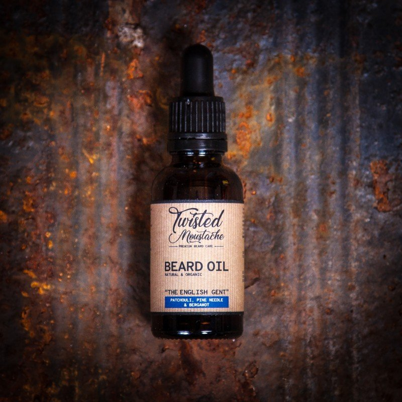 Review of Twisted Moustache The English Gent Beard Oil