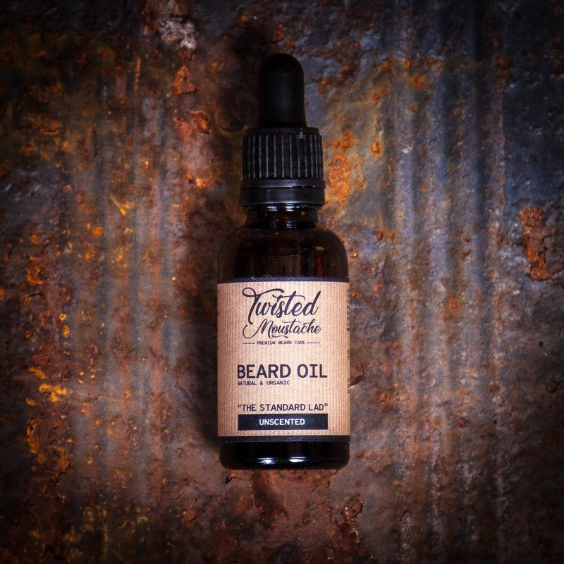 Review of Twisted Moustache The Standard Lad Beard Oil
