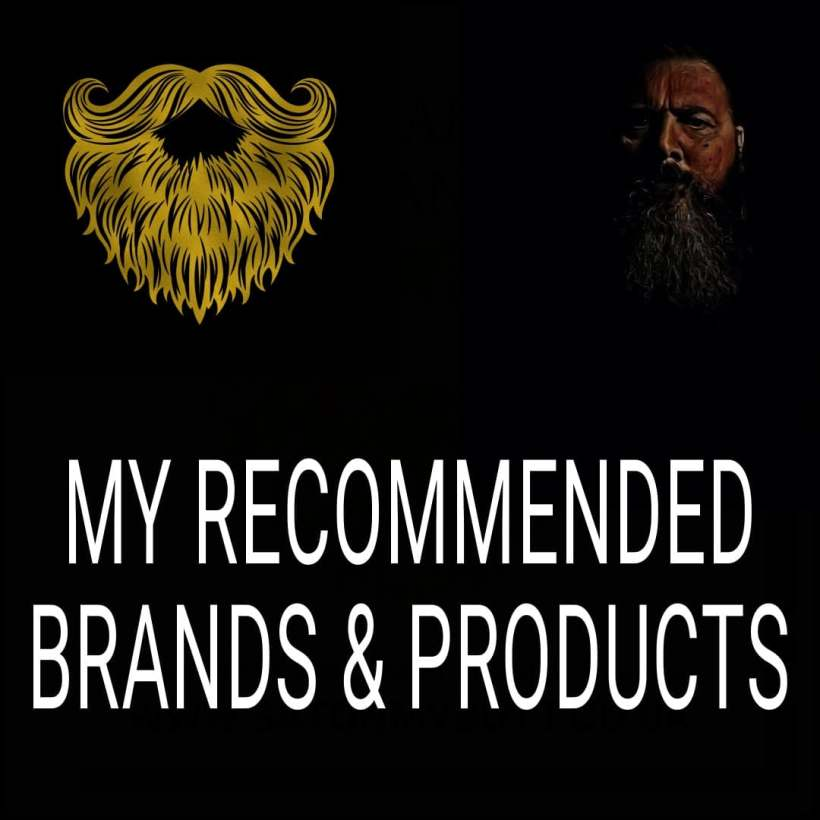 Recommended beard care brands and products