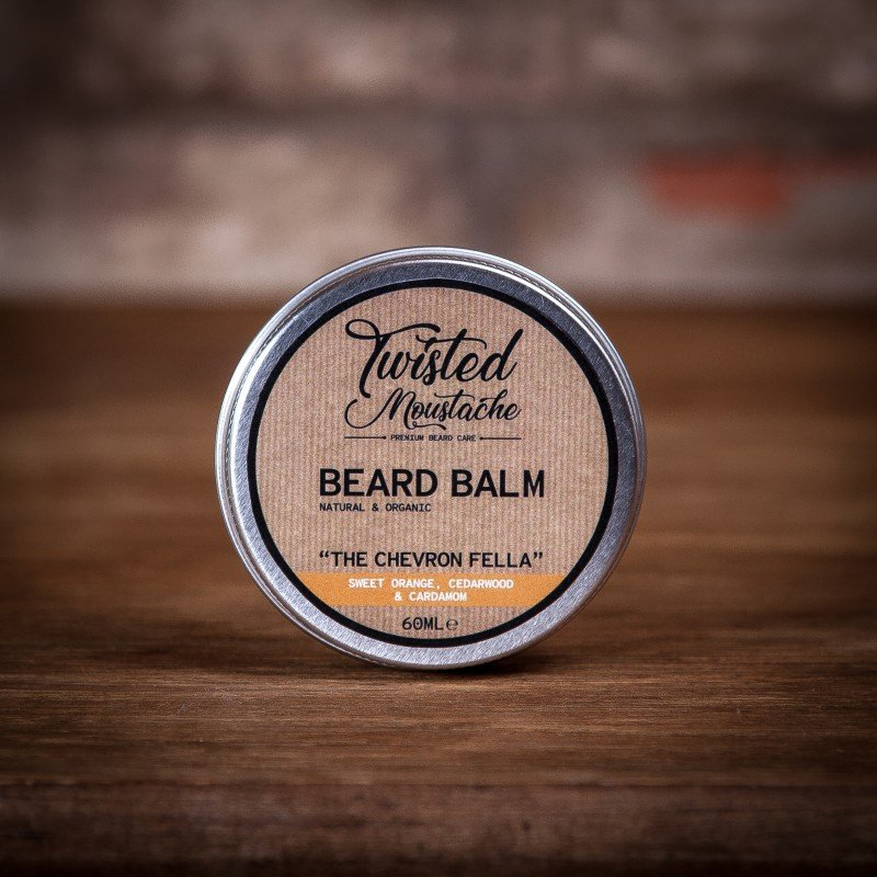 Review of the Twisted Moustache The Chevron Fella Beard Balm