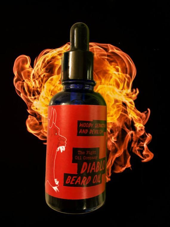 Review of The Fight Oil Co Diablo Beard Oil