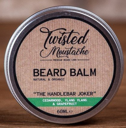 Review of the Twisted Moustache The Handlebar Joker Beard Balm