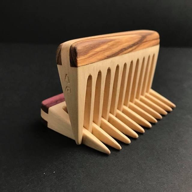 The Woodsman Knowles Beard Combs
