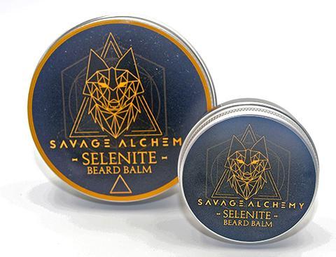 Savage Alchemy Selenite Beard Balm