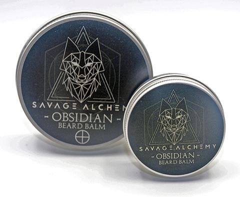Review of the Savage Alchemy Obsidian Beard Balm