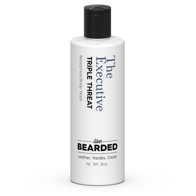 Review of the Live Bearded The Executive Beard Wash