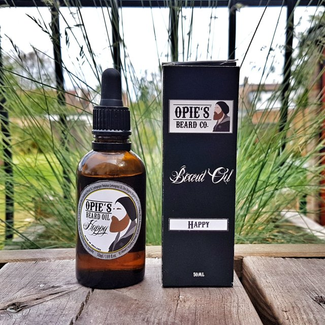 Review of the Opies Beard Co Happy Beard Oil
