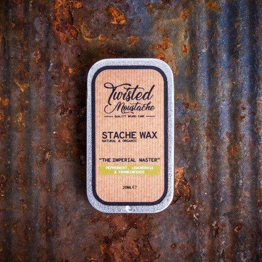 Twisted Moustache Stache Wax review