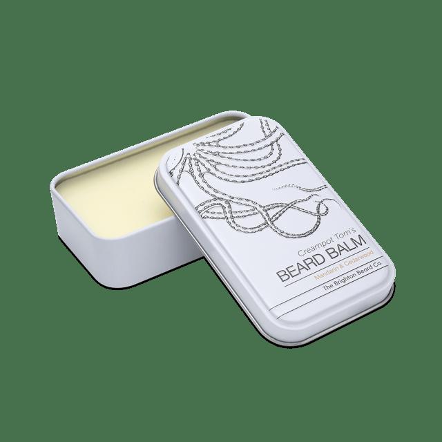 Review of The Brighton Beard Co Creampot Tom's  Mandarin & Cedarwood Beard Balm