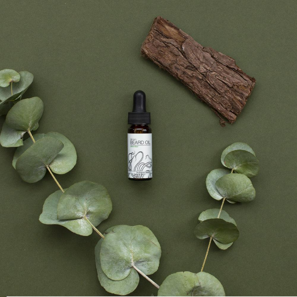 The Brighton Beard Co Old Joll's Lime & Basil Beard Oil review
