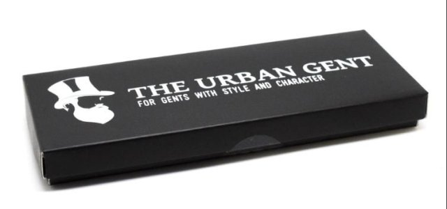The Urban Gent beard comb box