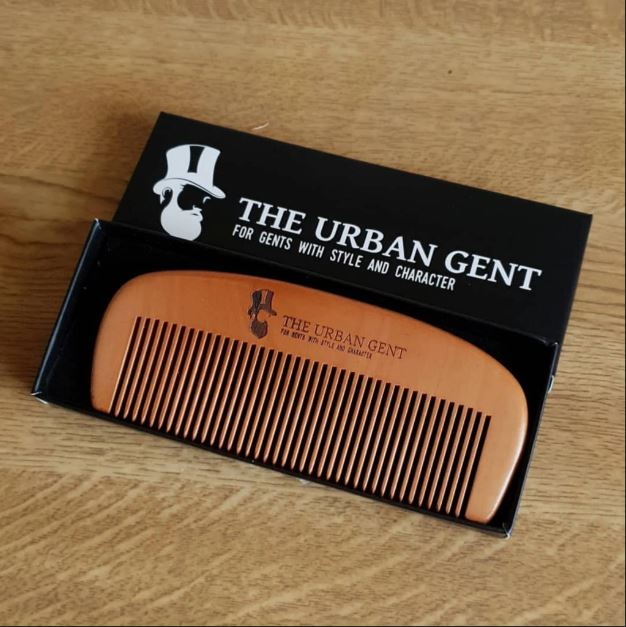 The Urban Gent Beard Comb