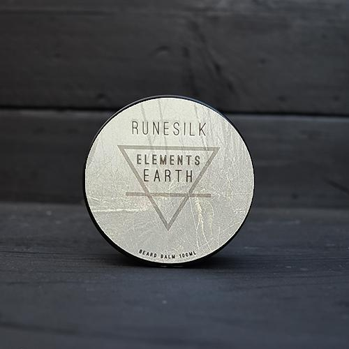 RUNESILK Elements Earth beard balm
