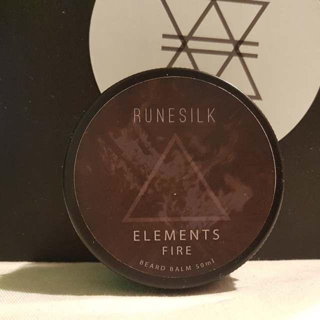 Review of the Runesilk Elements Fire Beard Balm