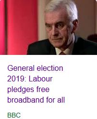 Labour pledges free broadband
