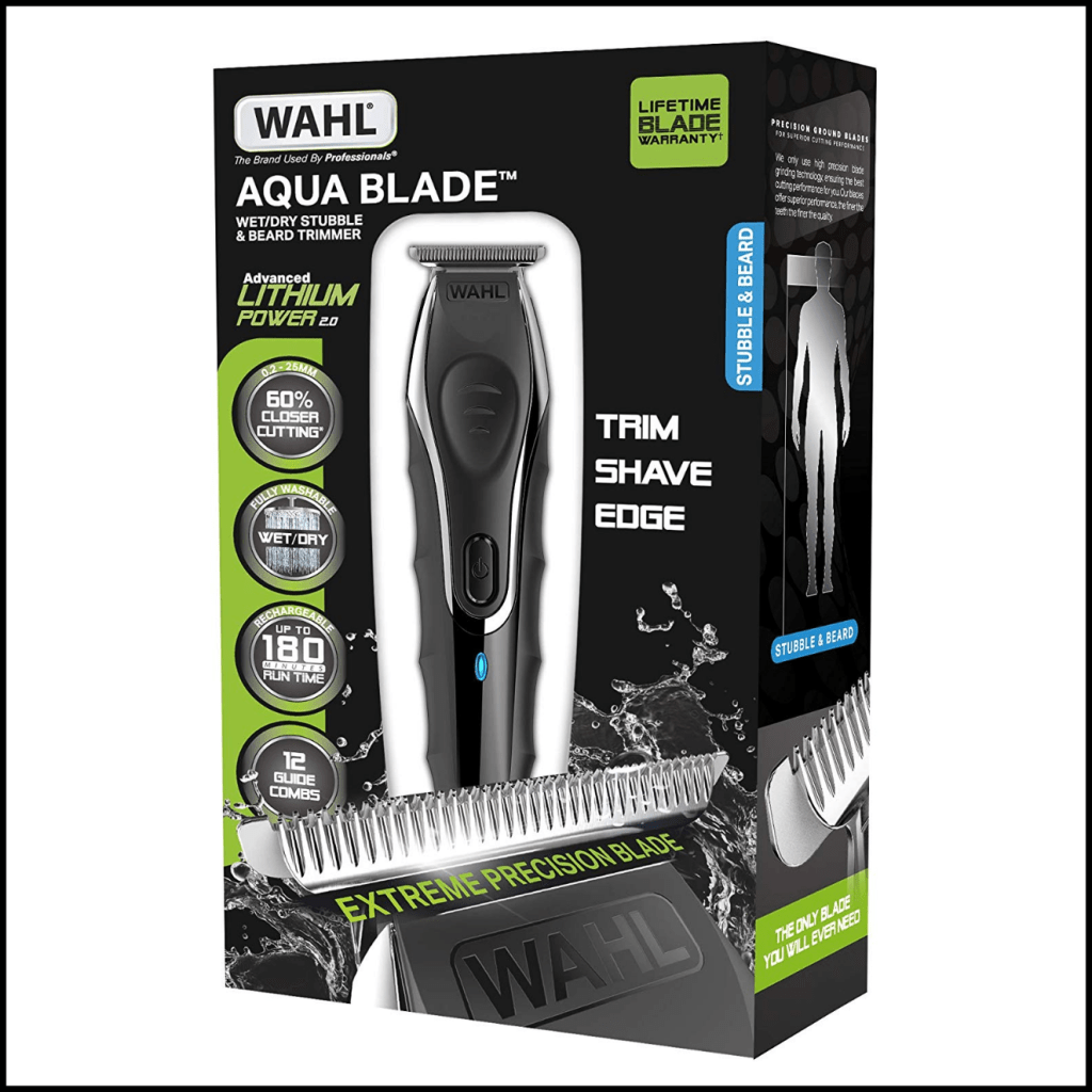 Wahl Aqua Blade Wet/Dry Stubble & Beard Trimmer review