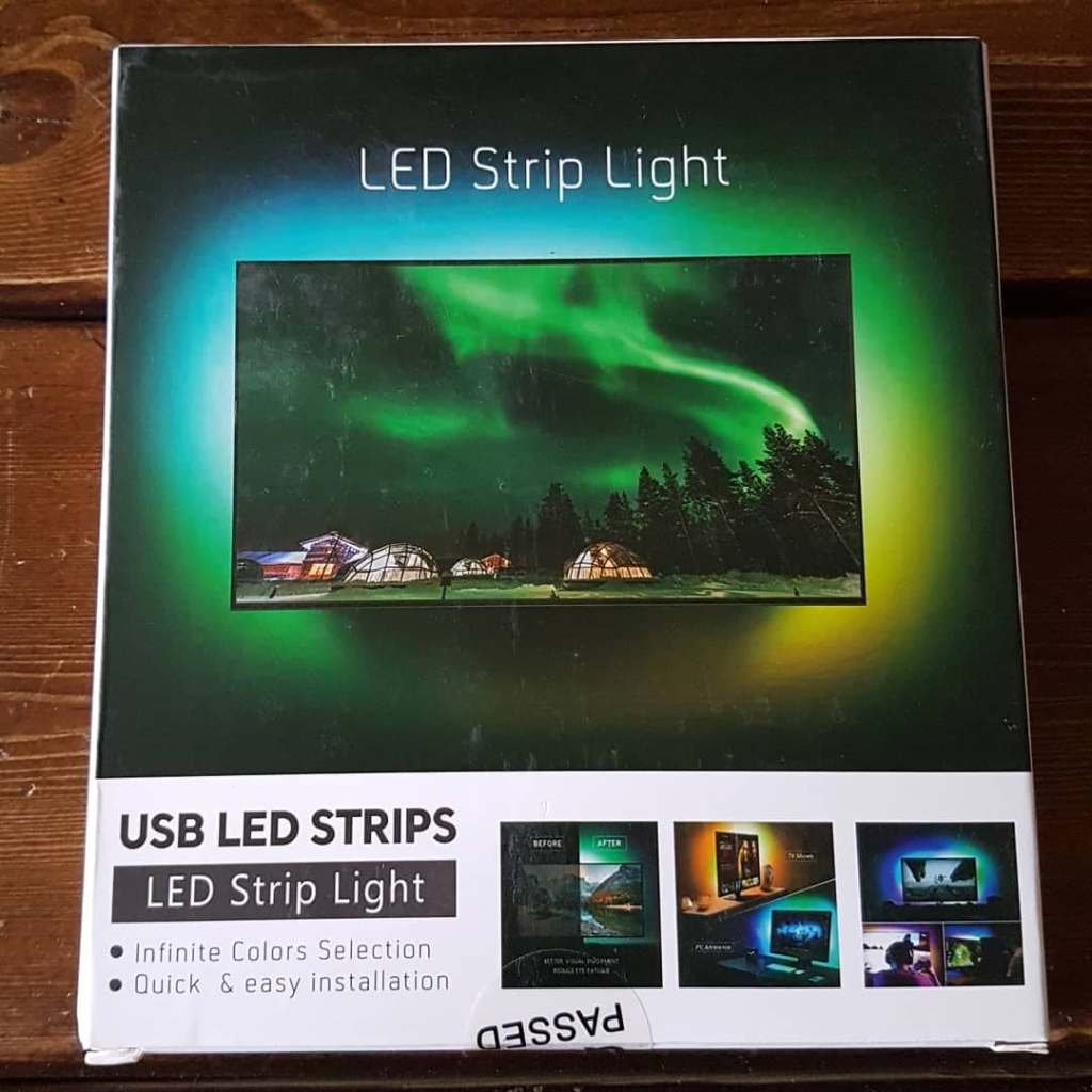 USB LED TV 2m Backlight Strip light Kit from Nexillumi Direct EU