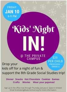 Kids' Night In!
