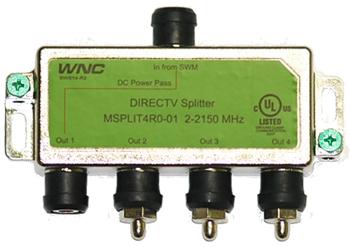 directv swm power inserter diagram 2006 harley sportster wiring splitter great installation of 4 way wide band for msplit4r1 03 rh satpro tv setup