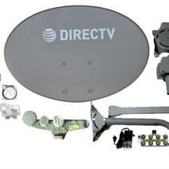 Directv Without Swm Bathtub Drain Installation Diagram Sl5s Slimline Dish Kit Lnb Power Splitter And