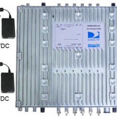 Direct Tv Wiring Diagram Swm Trailer Connector 4 Way 32 Directv Multiswitch With Dual 24 And 20v Power Supplies